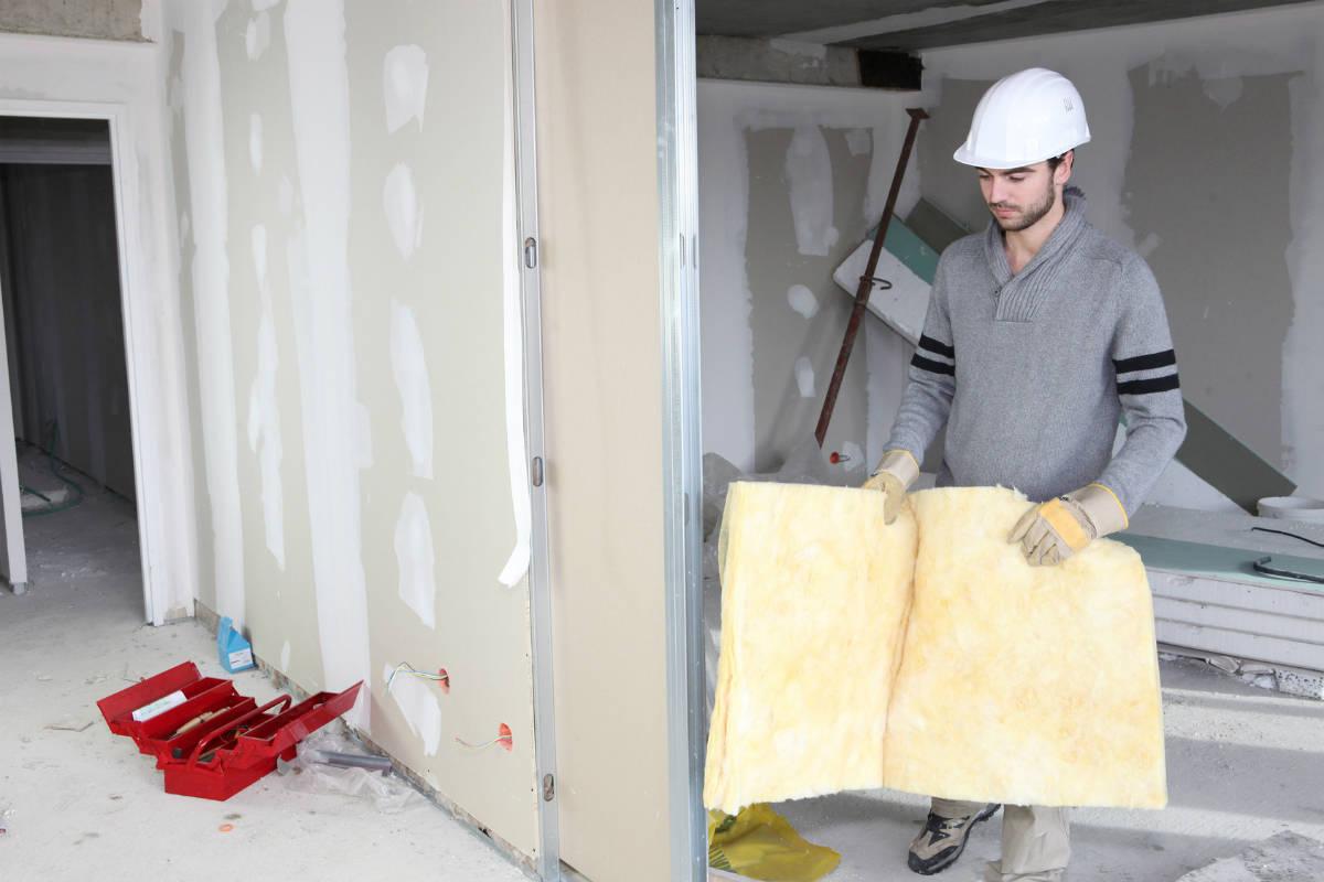 Pose de placo prix du placo au m2 for Solution anti bruit appartement