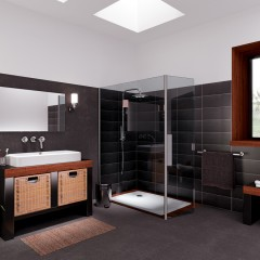 Travaux bricolage et revetement pvc - Sol pvc pour salle de bain ...