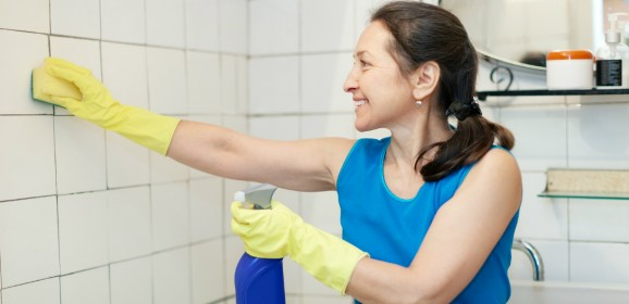 Salle de bain travaux bricolage for Nettoyer joint de carrelage salle de bain
