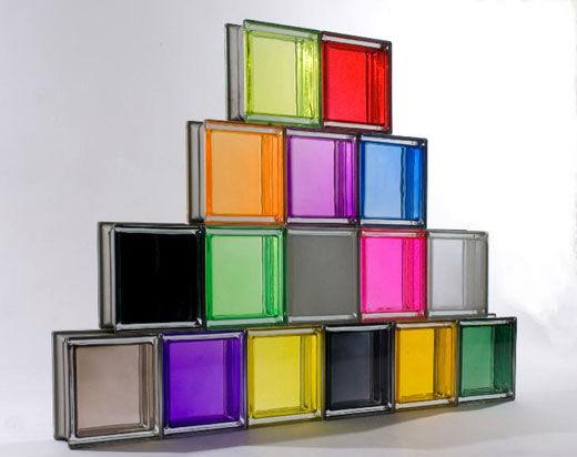 Faire entrer la lumire avec les cloisons en briques de verre