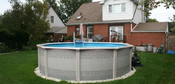 Piscine travaux bricolage for Installation piscine hors sol