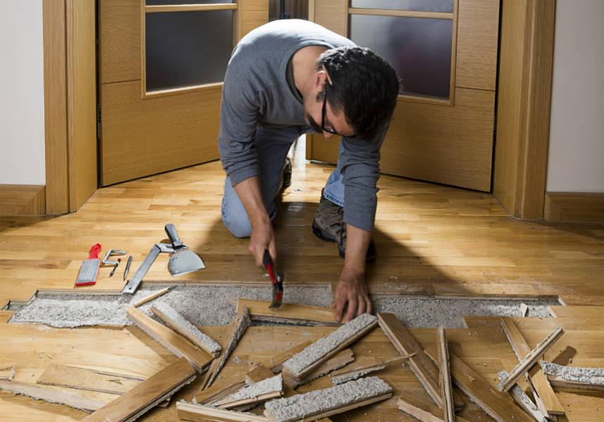 renover un plancher bois 28 images vieux parquet 224 r 233 nover, renover un parquet 7 photo  # Renovation Plancher Bois Ancien