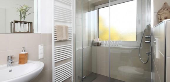 Salle de bain travaux bricolage for Poser une douche a l italienne