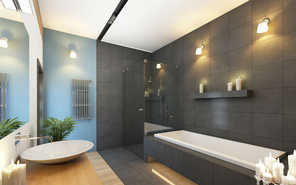 Am nager une salle de bain moderne for Photo salle de bain contemporaine