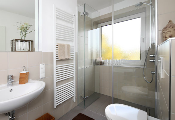 Am nager une salle de bain moderne - Une salle de bain com ...