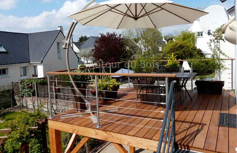 terrasse bois idee de terrasse en bois mod le terrasse en bois plan d terrasse en bois. Black Bedroom Furniture Sets. Home Design Ideas