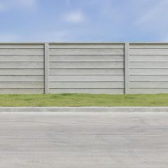 Prix et pose d'une clôture béton