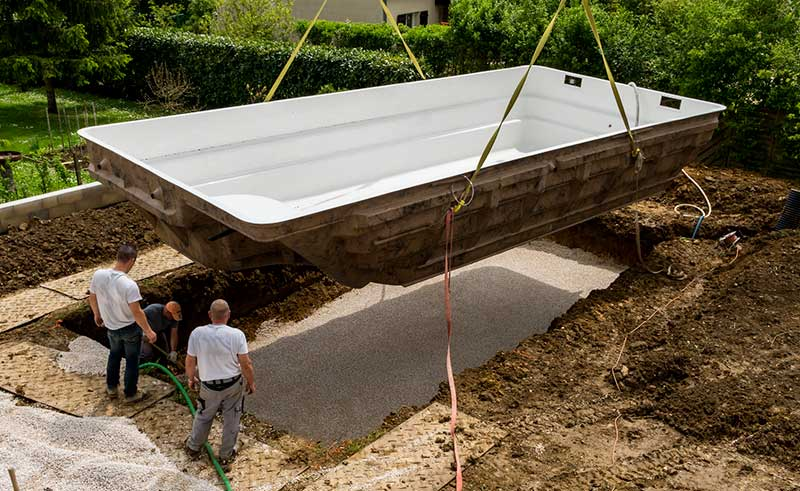 Prix d 39 une piscine enterr e for Construction piscine prix