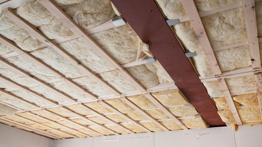 Isoler un faux plafond for Isolation faux plafond