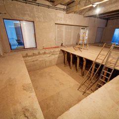 Prix de construction d'un sous-sol