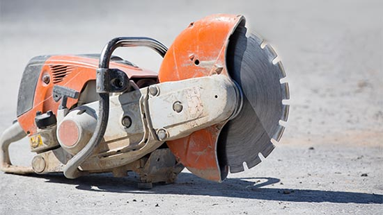 decouper dalle beton