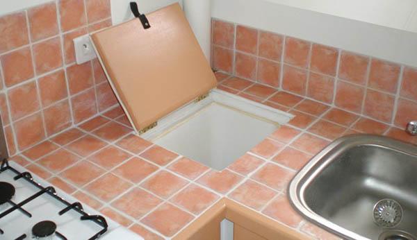 plan de travail cuisine carrelage grand format coller un plan de travail sur du carrelage. Black Bedroom Furniture Sets. Home Design Ideas