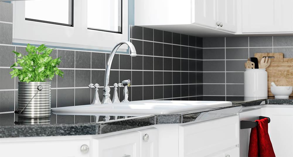 plan de travail carrel moderne simple repeindre un plan. Black Bedroom Furniture Sets. Home Design Ideas