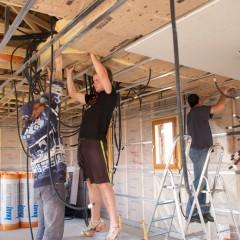 Pose et prix d'un faux plafond