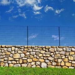 Prix d'une clôture en grillage vert par mètre