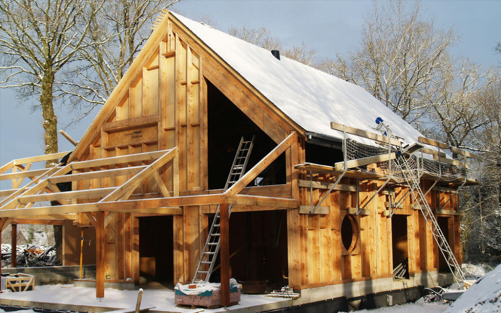 Prix de construction d 39 une maison en bois for Image construction maison