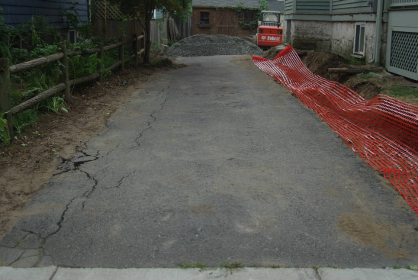Goudronner une all e de garage - Comment faire une descente de garage en beton ...
