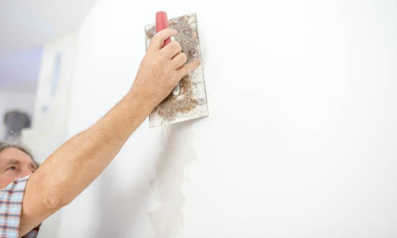 reboucher fissure mur
