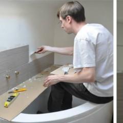 Faïence salle de bain et cuisine