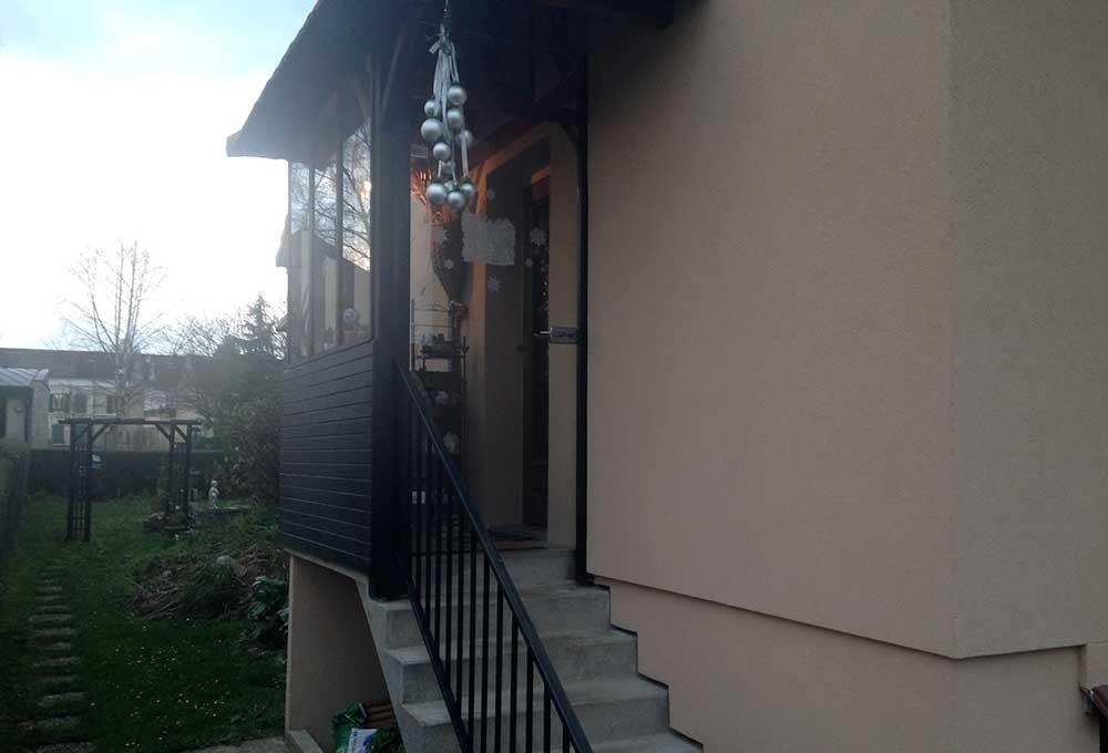 Construire Un Porche D Entrée prix et installation d'un sas d'entrée