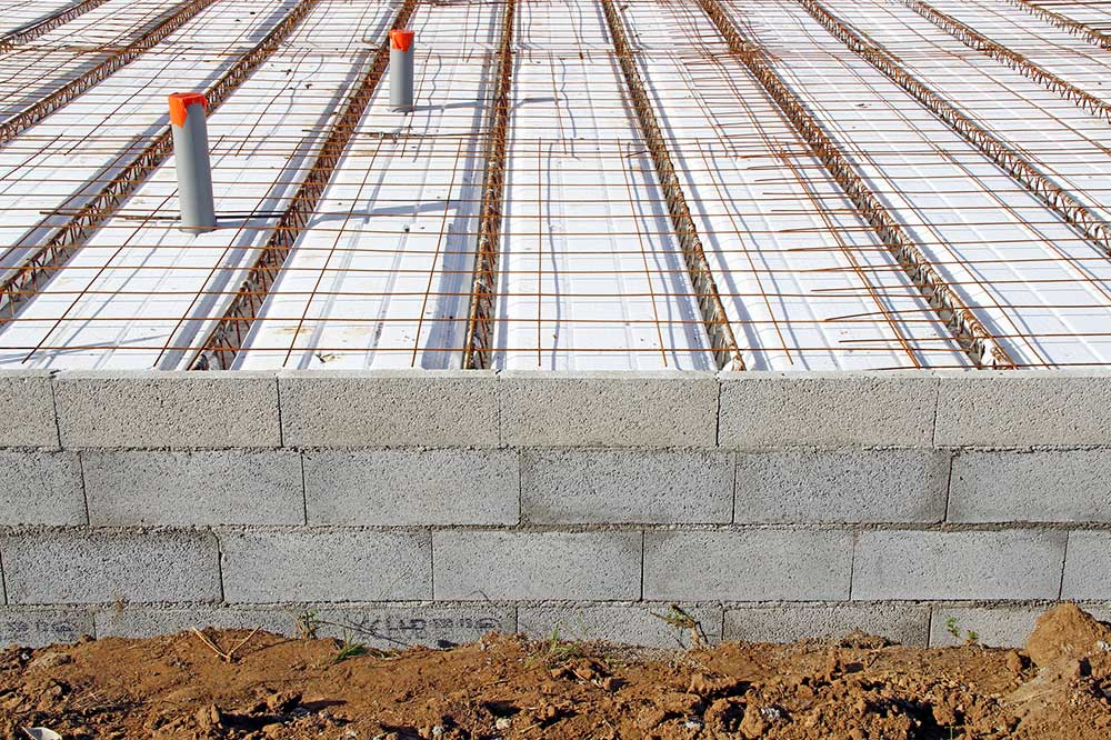 Isolation d 39 une dalle en b ton - Construction maison en beton arme ...