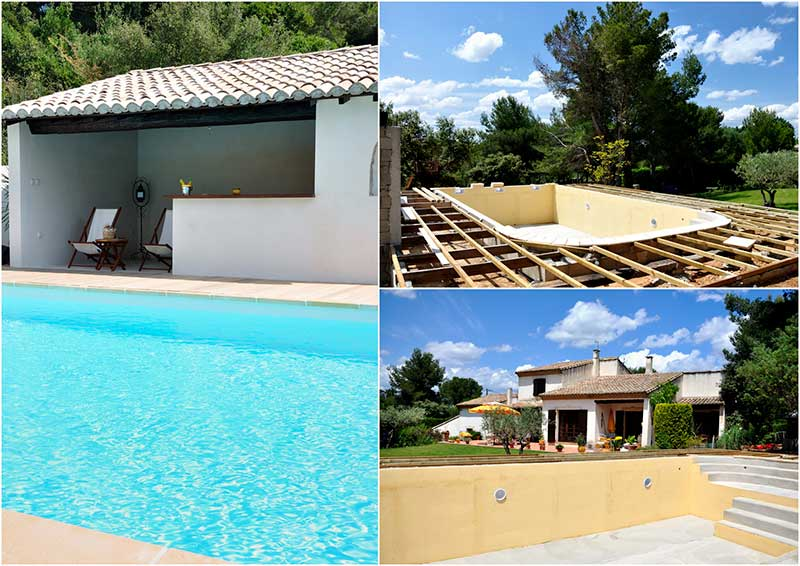 Prix d 39 une piscine enterr e for Construction pool house piscine