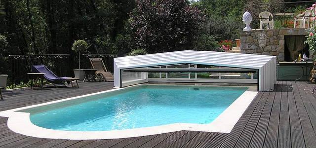 Prix d 39 un abri de piscine for Prix piscine enterree