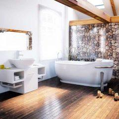 Prix d'un parquet salle de bains