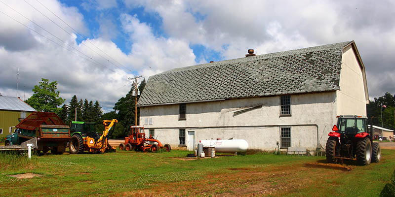 transformer grange en habitation