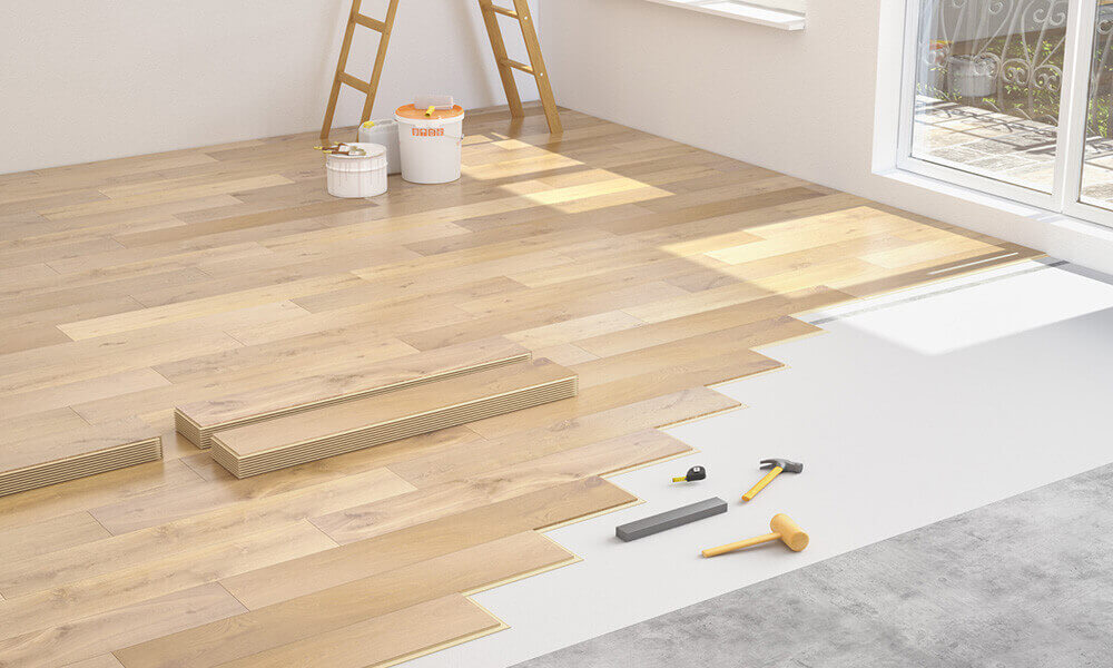 Isolation phonique d un parquet for Moquette sur carrelage