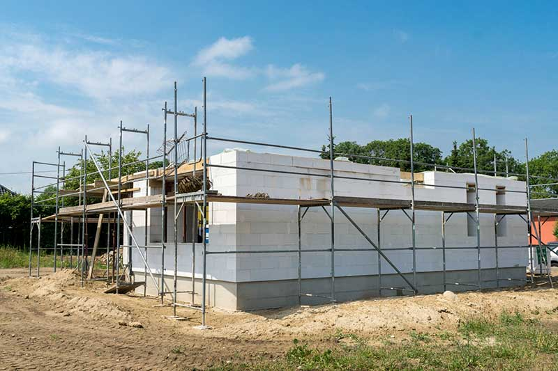 D lai de construction d une maison traditionnelle for Estimer construction maison