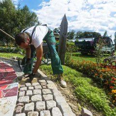 Aménagement d'un jardin paysager