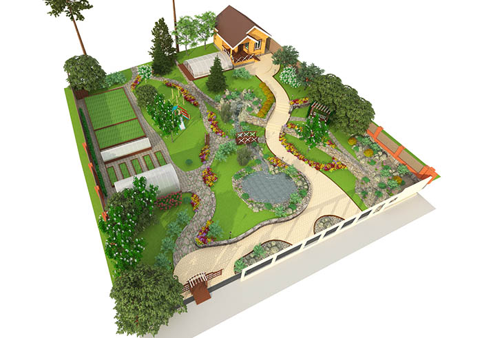 Dessiner un plan de jardin for Creation de maison 3d gratuit