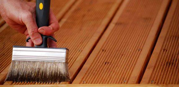 Entretien d'une terrasse en bois
