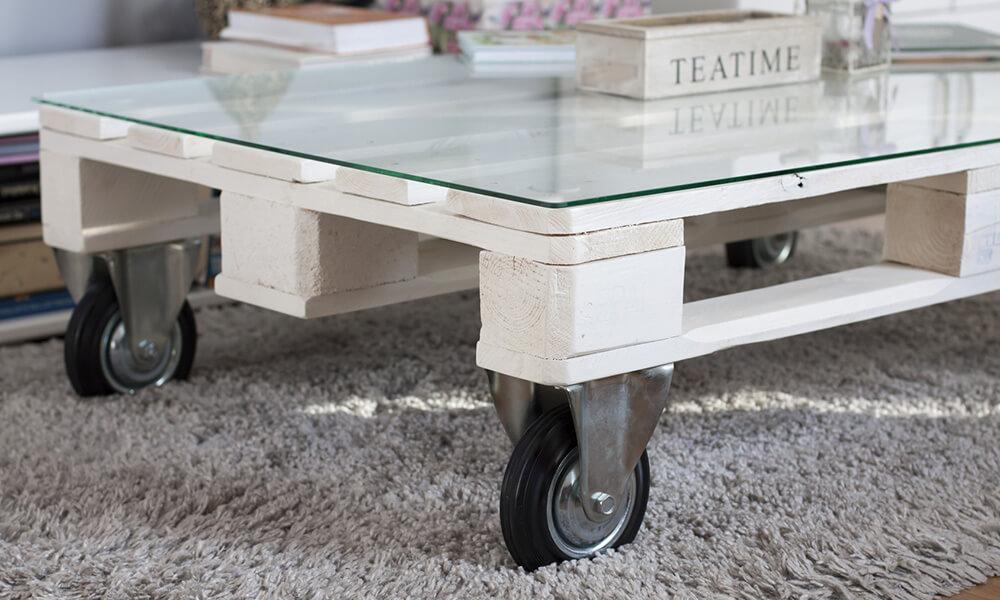 Fabriquer un meuble en palette - Fabriquer bureau en palette ...