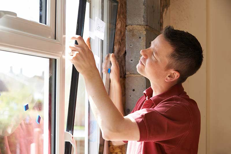 prix remplacer vitre cassée