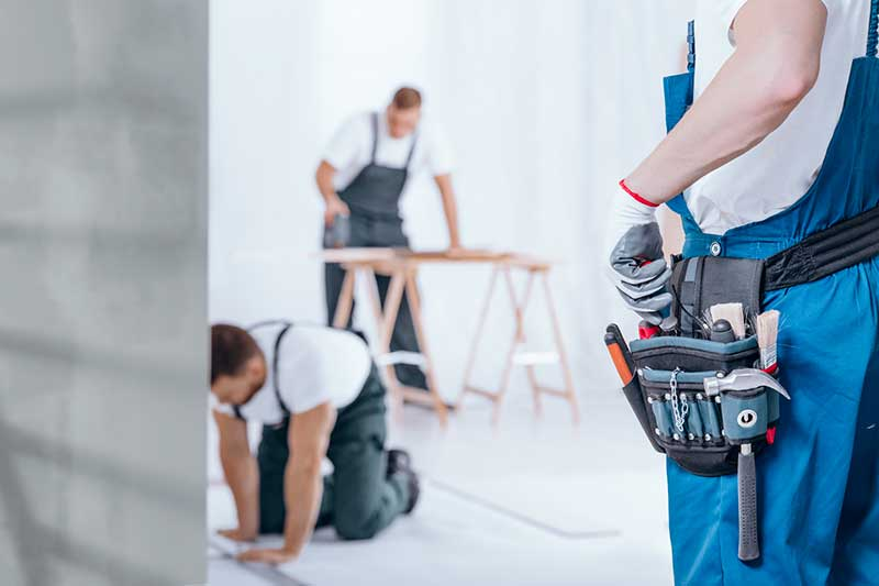 organisation chantier rénovation complète