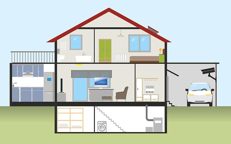 plan garage attenant maison
