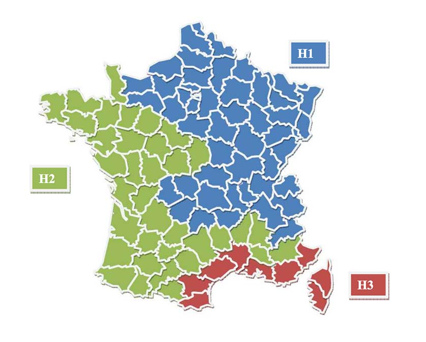 climat france zone