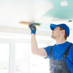 Comment enduire un plafond?