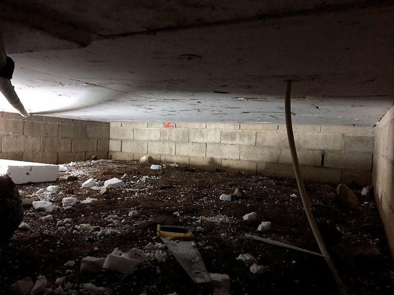 prix isolation vide sanitaire