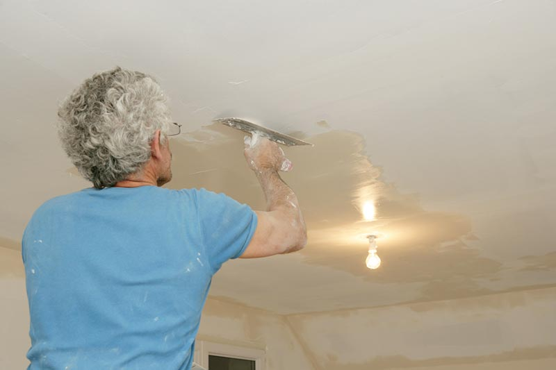 technique ratisser plafond
