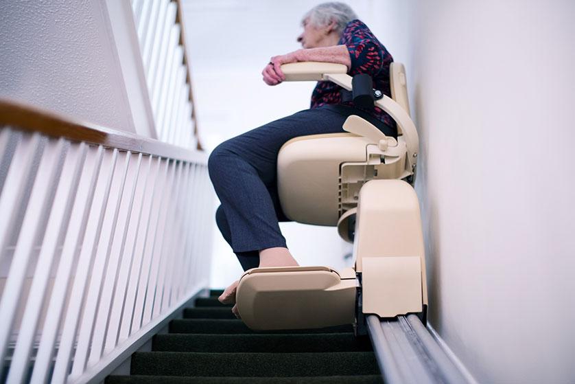 comment poser un monte escalier