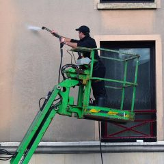 Prix d'un nettoyage de façade au m2