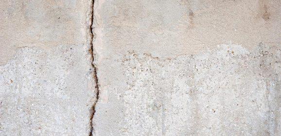 Fissures sur le mur porteur : solution et prix