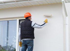 Peindre une façade extérieure : prix au m2