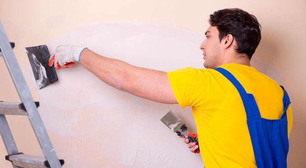 Preparation D Un Mur Avant Sa Mise En Peinture