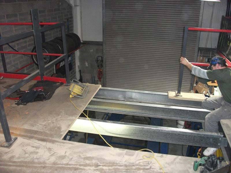 prix création mezzanine métal