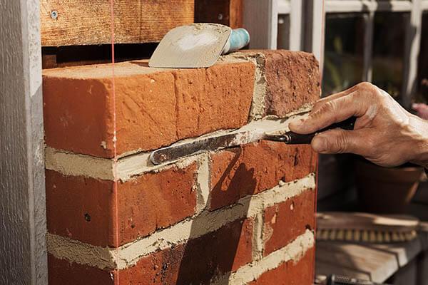 couper brique pleine rouge