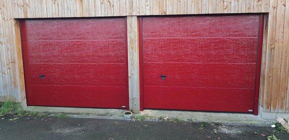 Dimensions standard d'une porte de garage